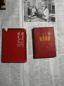 中医抄本两本(钢笔手抄)