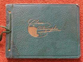 《民国致北平女大夫的留言册》1938年,64开硬精装,附相关照片六张