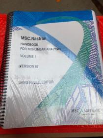 MSC.Nastran HANDBOOK  FOR NONLINEAR ANALYSIS  VOLUME1 2 合售