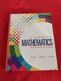 A Survey of Mathematics with Applications (9th Edition)      (大16开,硬精装) 【详见图】