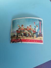 文革邮票 ;革命现代京剧《海港》