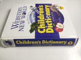 Webster's New World Children's Dictionary 韦伯斯特新世界儿童词典 韦氏新词典  精装超厚 英文版