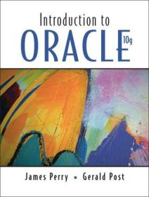 Introduction To Oracle 10g & Database Cd Package