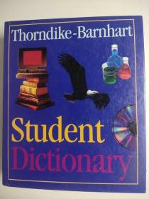 Thorndike Barnhart Student Dictionary 桑代克·巴恩哈特学生词典 精装英文版 英语学习 提供超过100000个单词的发音、语音、定义和词源 初中生高中生适用