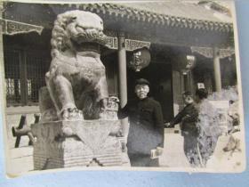 1986年10月拍于正定县荣国府的老照片