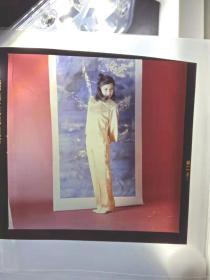 翁美玲香港原版大底片2张 每张230