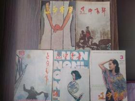辽宁青年  旧杂志打包处理