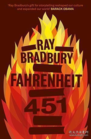 Fahrenheit451英文原版 华氏451度 Ray Bradbury雷布拉德伯里-