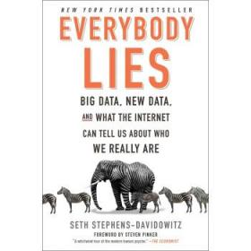 人人都在说谎 英文原版 Everybody Lies Seth Stephens 赛斯-