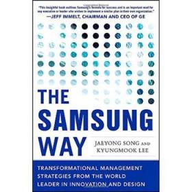 三星之道 英文原版The Samsung Way 企业品牌发展 化商业模式 精装-