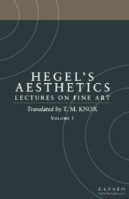 Aesthetics Volume 1 英文原版 美学 美术讲座 V.1 Hegel-