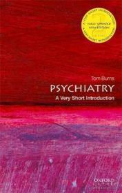 牛津通识系列 精神病学 英文原版 Psychiatry Tom Burns-