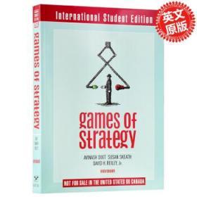 经济科学译库:策略博弈 英文原版 Games of Strategy 博弈论第三版-