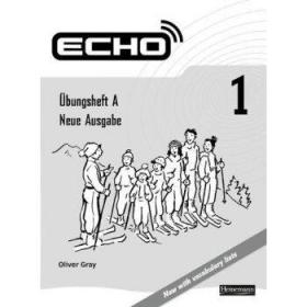 ECHO 1练习册 英文原版 英文教材 Echo 1 Workbook Heineman-