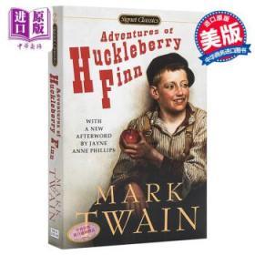 哈克贝利费恩历险记 英文原版The Adventures of Huckleberry Finn-