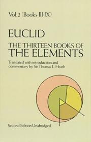 The Thirteen Books of the Elements (Euclid, Vol. 2--Books III-IX):Books of Euclids Elements