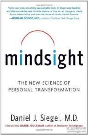 第七感 英文原版 Mindsight Daniel J. Siegel-