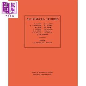 Automata Studies.