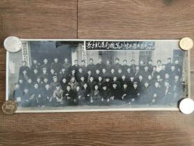 1960年元月襄阳专员公署航运局机驾训练班结业留影老照片一张,品好包快递。