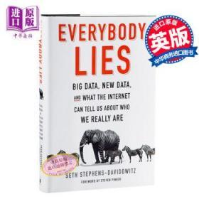 人人都在说谎 英文原版 Everybody Lies Seth Stephens-