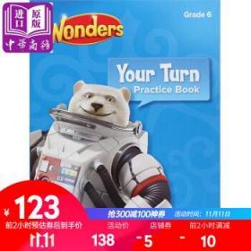 Reading Wonders Your Turn Practice Book, Grade 6教材-