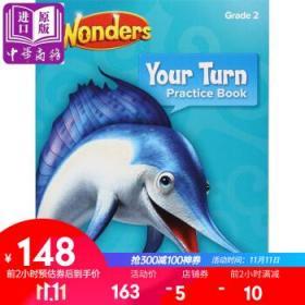 Reading Wonders Your Turn Practice Book, Grade 2教材-
