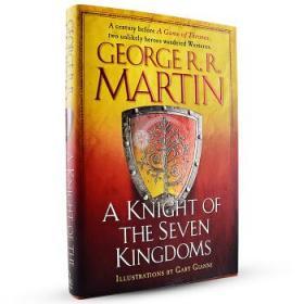 现货冰与火之歌前传 英文原版 A Knight of the Seven Kingdoms-