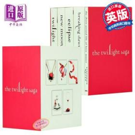 暮光之城 英文原版 5本全套 正版 Twilight Saga Book Set-