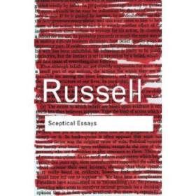 怀疑主义论文集 英文原版 Sceptical Essays Bertrand Russell 罗素-