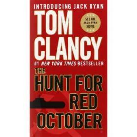 猎杀红色十月 英文原版 The Hunt for Red October-