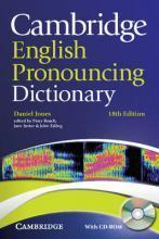 剑桥英语发音词典(第18版)带CD 英文原版 Cambridge English Dictionar-