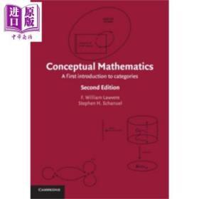 概念数学 范畴导论 第2版 英文原版 Conceptual Mathematics Lawvere-