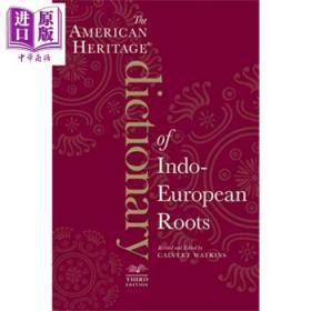 American Heritage Dictionary 英文原版 美国传统词典:印欧语系词源-