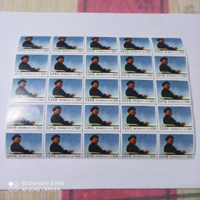 2013年朝鲜官方发行毛泽东文革形象邮票25枚