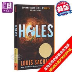 Holes 别有洞天 洞 660L 纽伯瑞奖 Louis Sachar 英文原版 7-12岁-