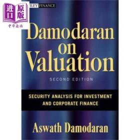 Damodaran On Valuation英文原版达摩达兰论估价 Aswath Damodaran-