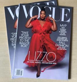 美国版 vogue2020年10月 女性时尚服饰潮流趋势英文杂志