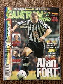 原版足球杂志 意大利体育战报1998 22期 欧冠决赛等内容