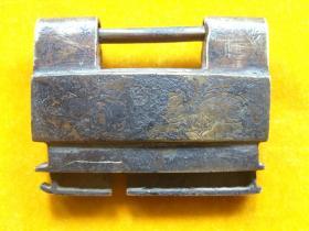 老铜锁(没有钥匙)