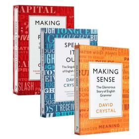 理解 一一道来 证明一个观点 3册套装 英文原版Making Sense Spell It Out Making a Point英语语法 写作 语言学David Crystal