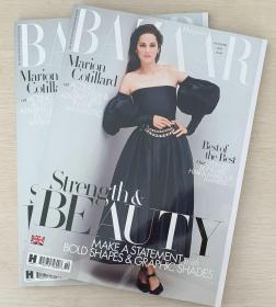 HARPER`S BAZAAR 英国版芭莎2020年10月 英文时尚女士服装杂志
