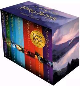 哈利波特 英文原版童书 Harry Potter7册套装全集 特别版(附赠A3尺寸海报)