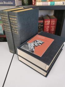 Abraham Lincoln: The War Years《战争年代的林肯》Carl Sandburg / 桑德堡 普利策奖作品 1939 年初版本 布面精装 全四卷