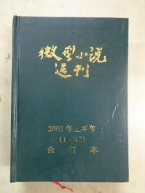 2003年微型小说选刊 上半年1_12期【精装合订本】