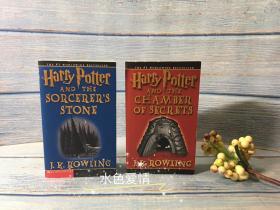 预售绝版二手美国大众市场版哈利波特与魔法石组合平装harry potter and sorcerer's stone market edition