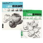 正版组套2本经典全集系列丛书 经典素描单体静物 结构素描静物 杨建飞 铅笔结构 素描技法 绘画书籍 美术范本 中国