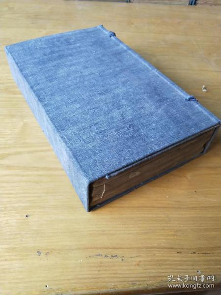 《奎壁诗经》,上古诗歌总汇,儒家主要经典之一,清光绪木刻板,一函一套四厚册全。规格25X15、6X5、5cm