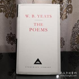 【近期不能发货,别付款,可联系确定发货时间】W. B. Yeats 叶芝诗集/叶慈诗集 everyman's library 人人文库 英文原版 布面封皮琐线装订 丝带标记 内页无酸纸可以保存几百年不泛黄