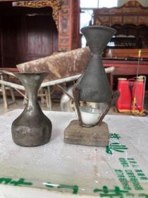 民国时期,烫酒壶两套,包浆好,用料厚重,入手即用