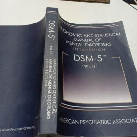 Diagnostic and Statistical Manual of Mental Disorders, 5th Edition:DSM-5